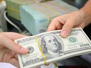 20日越盾兑美元中心汇率上涨8越盾  商业银行美元汇率大幅下跌
