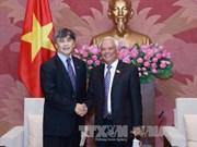国会副主席汪周刘会见国际合作社联盟代表团
