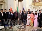 意大利布雷西亚大学希望将有更多越南大学生前来留学