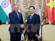 越南副外长裴青山会见印度外交国务部长库马尔·辛格