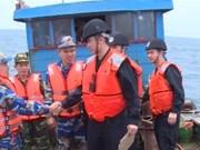 2017第一次越中海警北部湾共同渔区联合检查行动圆满结束