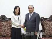 阮春福总理会见(中国台湾)宝成国际集团执行长蔡佩君