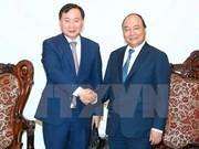 越南政府总理阮春福会见韩国现代汽车集团总裁
