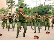 胡志明市公安局协助万象公安局提升打击犯罪的能力