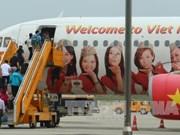 越南各家航空公司陆续开通多条国际航线