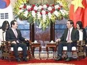 陈大光主席:越韩关系发展强劲并不断走向深入