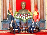 国家主席陈大光会见安哥拉外交部长希科蒂