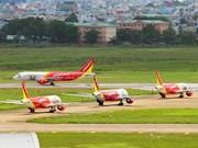越捷航空公司增加近300班次 满足4·30和5·1长假旅客出行需求