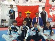 2017年哈萨克斯坦G1跆拳道公开赛:越南队获5金