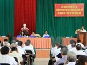 越南国会代表接触同奈省选民