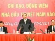 阮春福总理:老挝越南企业在投资经营活动中需保持言行一致