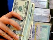 27日越盾兑美元中心汇率上涨4越盾