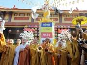 2017年佛诞大典:越南祖国阵线中央委员会主席阮善仁向全国僧尼和佛教徒致贺信