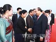 老挝媒体:阮春福访老有助于深化越老两国兄弟关系