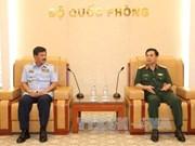 越南人民军总参谋长潘文江会见印尼空军参谋长哈迪·查延多