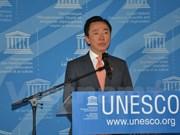 越南外交部部长助理范生朱竞选联合国教科文组织总干事