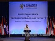 菲律宾总统杜特尔特发表东盟主席声明