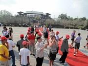 越南顺化古都遗迹保护中心接待游客量达100多万人次