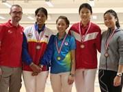 2017年新加坡击剑公开赛:越南队夺得三枚金牌