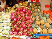 今年前4月越南果蔬出口额达10亿美元
