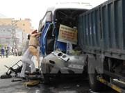 4•30和5•1四天假期越南全国交通事故死亡人数近百人