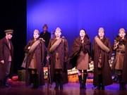 越南军队歌舞剧院艺术代表团赴俄罗斯表演