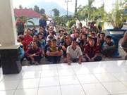 越南近580名渔民因涉嫌非法捕鱼被印尼警方逮捕