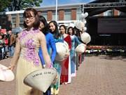越南参加在比利时举行的春天节日