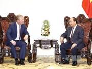 越南政府总理阮春福会见新西兰贸易部部长托德· 麦克莱