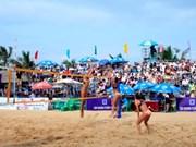 中国队获2017年下龙市巡州亚洲女子沙滩排球赛冠军