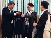 越南新闻工作者代表团对柬埔寨进行工作访问