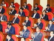 越共第十二届中央委员会第五次全体会议进入第五个工作日