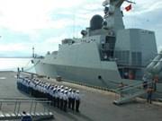越南海军军舰赴新加坡参加该国海军建军系列纪念活动