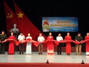 """""""黄沙与长沙归属越南:历史证据和法理依据""""地图和资料展在和平省举行"""