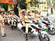 河内市努力确保2017年APEC第二次高官会期间交通安全稳定有序