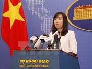外交部发言人黎氏秋姮:要求有关各方尊重越南对长沙群岛的主权