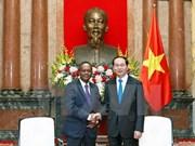 越南与马达加斯加希望分享粮食安全保障经验