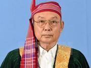 缅甸议会上院议长曼温凯丹开始对越南进行正式访问