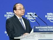 越南政府总理阮春福开始出席2017年世界经济论坛东盟峰会之行