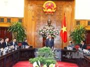 政府总理阮春福会见中国香港贸易发展局主席罗康瑞