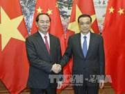 国家主席陈大光会见中国国务院总理李克强