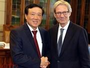 越南最高人民法院院长阮和平对意大利进行工作访问