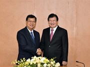 郑廷勇副总理:老挝国会大厦是越老传统友好与特殊团结关系的象征