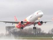 越捷航空公司开始出售河内市至仰光市直达航线的机票 起价为20.5万越盾