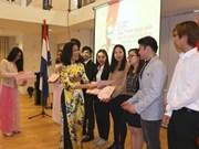 越南驻荷兰大使馆举行胡志明主席诞辰127周年纪念典礼