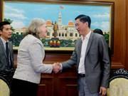 越南胡志明市与美国加强合作 促进智慧城市建设