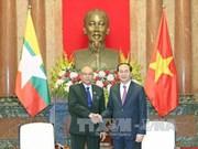 陈大光主席:越缅应促进各有优势领域的合作