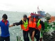 在新加坡遇险的三名越南籍船员已被及时送医救治