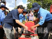 第16次越南志愿军烈士遗骸交接仪式在柬埔寨举行