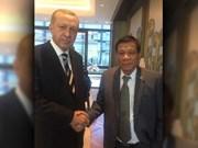 菲律宾总统:土耳其和蒙古希望加入东盟